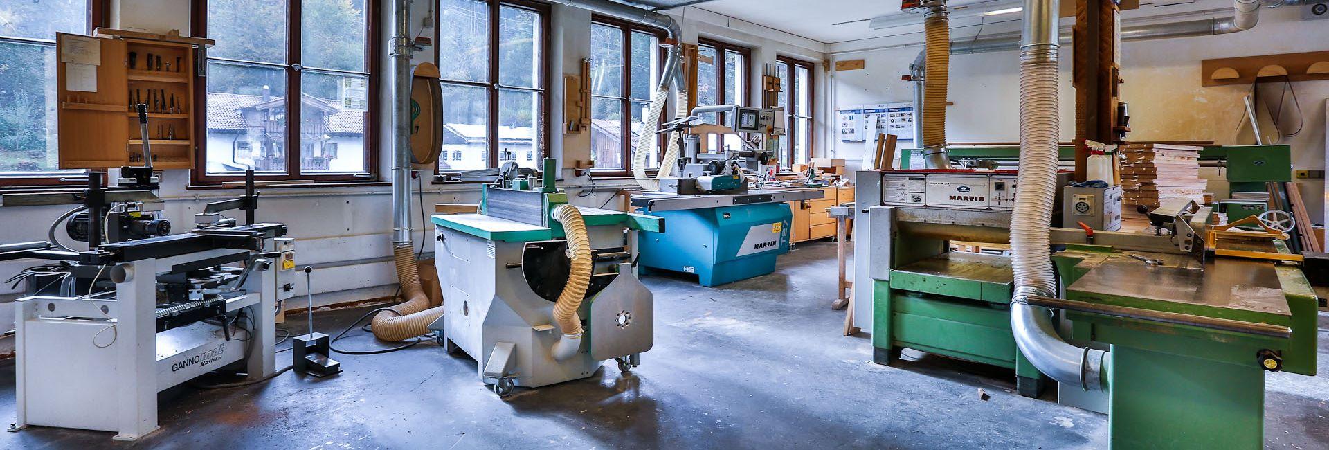 Berufsfachschule für Holzschnitzerei bzw. Bildhauerei in Berchtesgaden - Schnitzschule Berchtesgaden